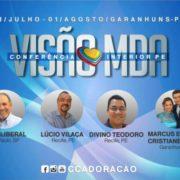 Conferência Interior PE da Visão do MDA